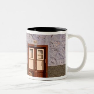 Spain, Canary Islands, Tenerife, villa Two-Tone Coffee Mug