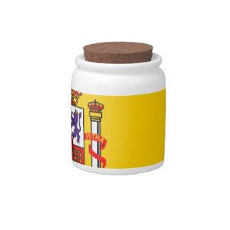 Spain Candy Jars