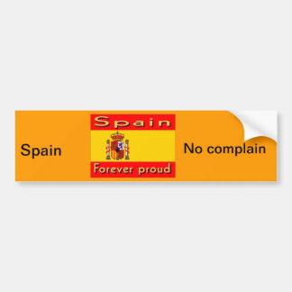 Spain Car Bumper Sticker