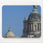 Spain, Catalonia, Barcelona. Barcelona roof top 2 Mouse Pads