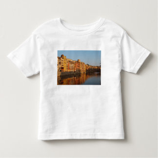 Spain. Catalonia. Gerona. Houses on the Onyar Toddler T-shirt