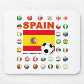 Spain Champions 2010 Mouse Pad