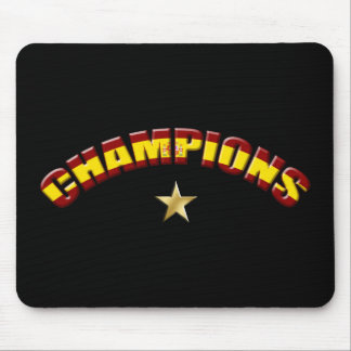 Spain Champions Mouse Pad