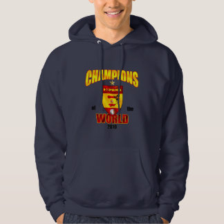 Spain Champions of the World 2010 Hoodie
