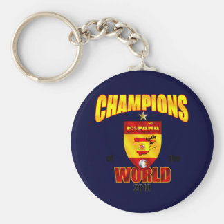 Spain Champions of the World 2010 Keychain