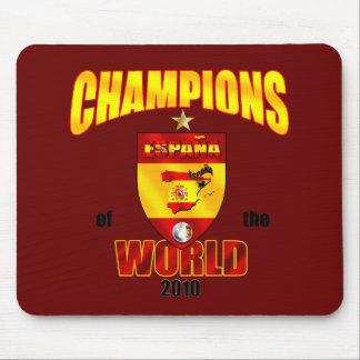 Spain Champions of the World 2010 Mouse Pad