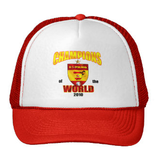 Spain Champions of the World 2010 Trucker Hat
