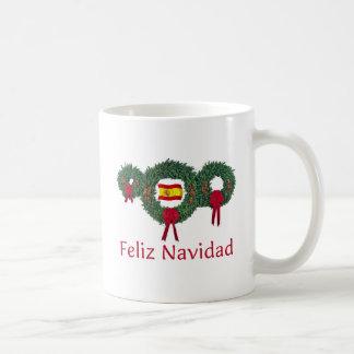Spain Christmas 2 Coffee Mugs