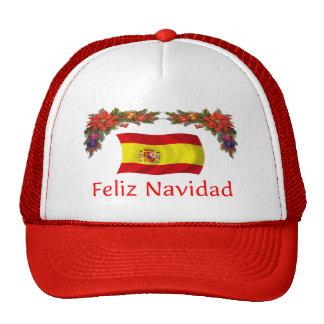 Spain Christmas Mesh Hat
