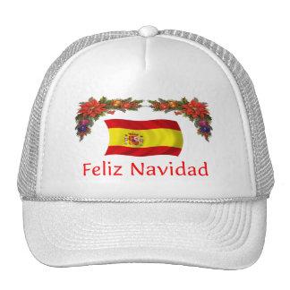 Spain Christmas Trucker Hat