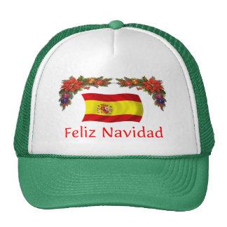 Spain Christmas Mesh Hats