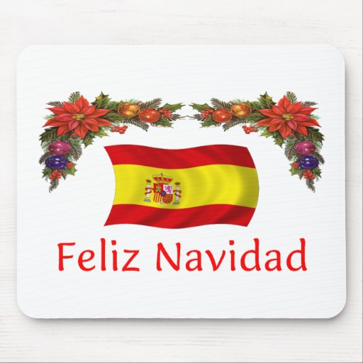 Spain Christmas Mouse Pad