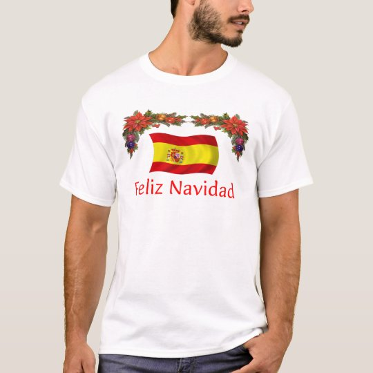 Spain Christmas T-Shirt
