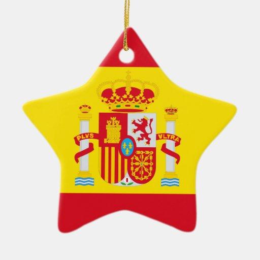 Spain Christmas Tree Ornament