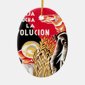 Spain civil war CNT-FAI original poster 1936 Ceramic Ornament