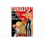 Spain civil war CNT-FAI original poster 1936 Post Cards