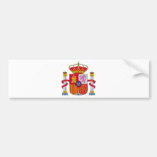 Spain Coat of Arms Bumper Stickers