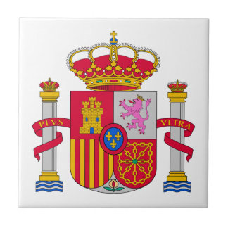Spain Coat of Arms Ceramic Tile