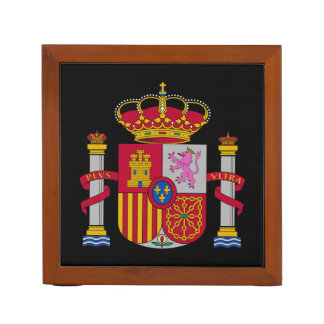 Spain* Coat of Arms Desk Organizer