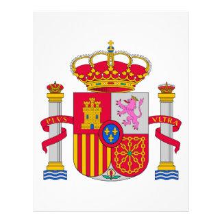 Spain Coat of Arms Letterhead