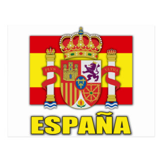 Spain Coat of Arms Postcards