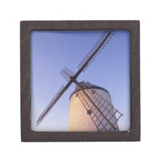 Spain, Consuegra, Castile-La Mancha Windmills 2 Jewelry Box