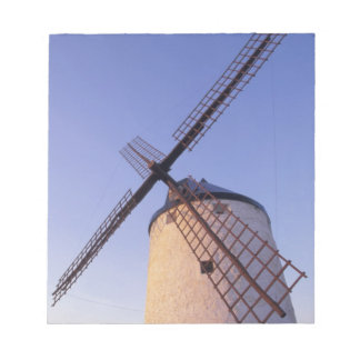 Spain, Consuegra, Castile-La Mancha Windmills 2 Notepad