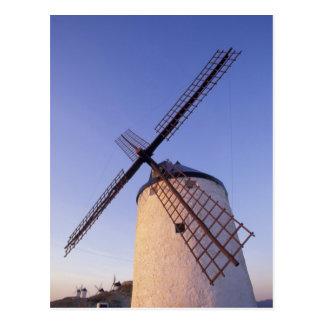 Spain, Consuegra, Castile-La Mancha Windmills 2 Postcard