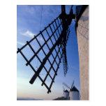 Spain, Consuegra, Castile-La Mancha Windmills Postcard