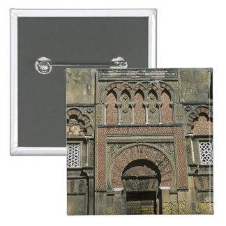 Spain, Cordoba, Moorish mezquita (mosque). Pinback Button