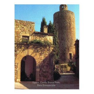 Spain, Costa Brave Pals, Baix Emoporada Postcard