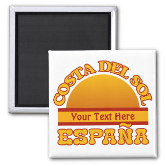 SPAIN Costa Del Sol custom magnet