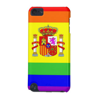 spain country gay proud rainbow flag homosexual iPod touch 5G case