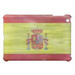 Spain distressed Spanish flag iPad Mini Cover