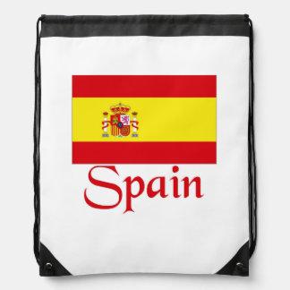 Spain Drawstring Backpack