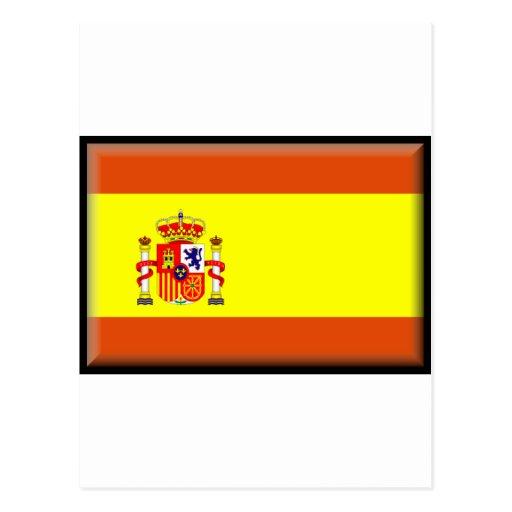 Spain/España Flag Post Cards