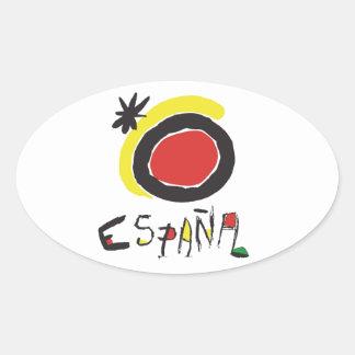 Spain - España Oval Sticker