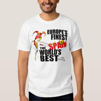 Spain European Champions 2012 Soccer T-Shirt