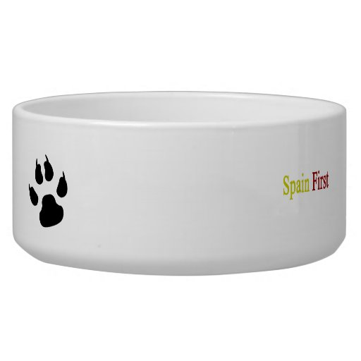 Spain First Pet Food Bowls