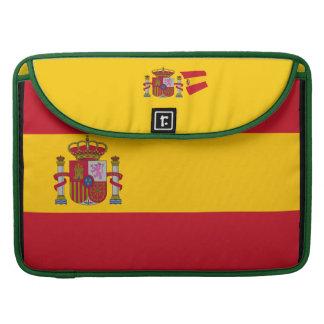 Spain Flag 15 inch MacBook Pro Sleeve