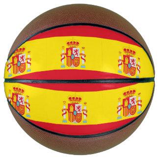 Spain Flag Basketball