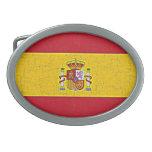 SPAIN FLAG Belt Buckle