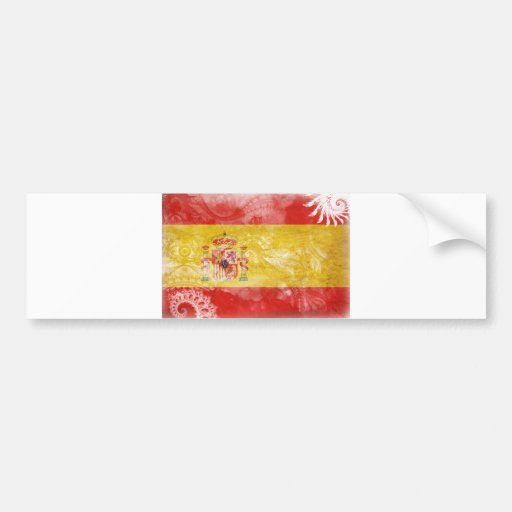Spain Flag Bumper Stickers