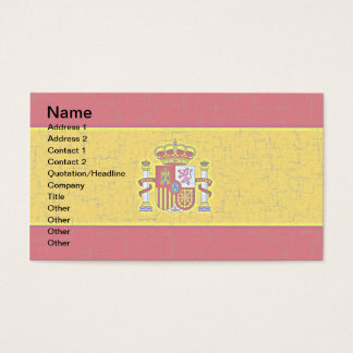 SPAIN FLAG Business Cards