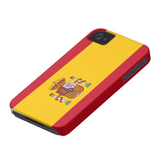 Spain Flag Case-Mate iPhone 4 Cases