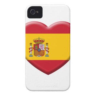 Spain flag Case-Mate iPhone 4 case