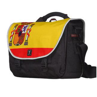 Spain flag commuter bag