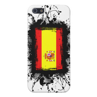 Spain Flag Cover For iPhone SE/5/5s