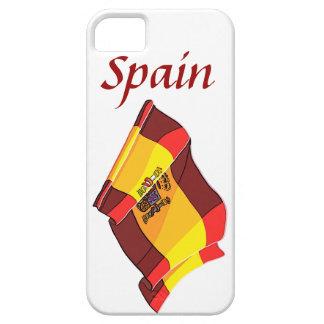 Spain Flag Design iPhone 5 Case