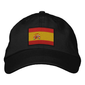 Spain Flag Embroidered Baseball Hat